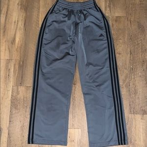Grey straight leg Adidas Sweatpants